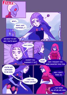 Page 21 <-- You are Here --> Page 23 Just when Raven thought things were going well, the Conjurer strikes with his creepy skull thing (just what i. Titans: Refuge in Arkham Horror Quotes, Dc Comics, Raven Beast Boy, Bbrae, Sneak Attack, Ghost Busters, Icarly, Batman Family, Teen Titans Go