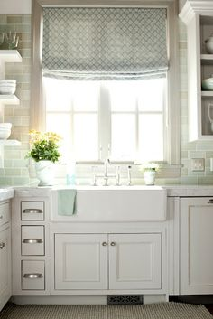 multi-tone subway tile!  VT Interiors - Library of Inspirational Images: Grand Lady