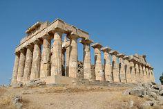 Ancient Greek Temple of Hera, Selinute, Sicily