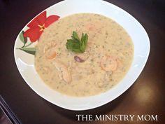 Creamy Chicken Velvet Soup
