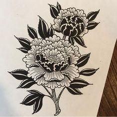Rose Tattoos, Leg Tattoos, Flower Tattoos, Body Art Tattoos, Small Tattoos, Tattos, Blackwork, Tatuagem Old School, Modern Tattoos