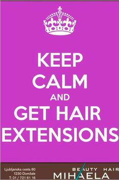 Nič več mučnega čakanja na dolge lase - mi vam jih pričaramo čez noč, in to močne, kakovostne, naravne in obstojne, na voljo v kateremkoli odtenku. Hair extensions by Mihaela: best in town!