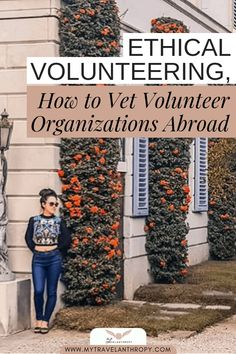 Don't get scammed! How do you identify and vet ethical volunteering organizations? Volunteer Programs, Volunteer Abroad, Volunteer Trips, Ways To Travel, Travel Tips, Travel Hacks, Travel Guides, Work Abroad, Trips Abroad