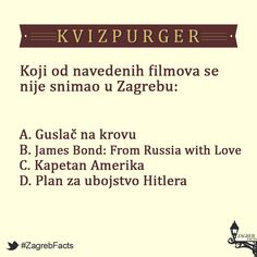 #ZagrebFacts #kvizpurger