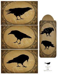 Crow printables