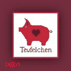 instand download pdf cross stitch embroidery от stickvorlageyayaya, €4.00