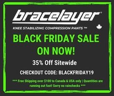 BLACK FRIDAY SALE ENDS TODAY | 35% Off Sitewide Compression Pants, Black Friday
