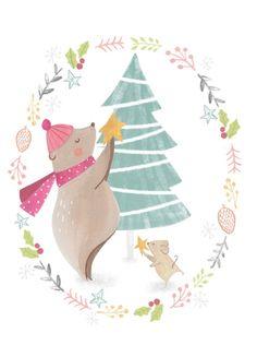 Bianca Pozzi 'Kaart Kerstboom'