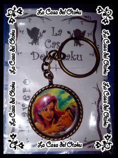 #llavero #Disney #lasirenita #mermaid #littel #Ariel #Eric #Prince #sea #under #love #cute #lovely #kawai #movie #film