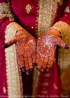 Henna by Henna Lounge for a Pakistani bride. Master Henna artist Darcy is available travel for your destination wedding events in California, Mexico, Central American and Europe. Henna Lounge makes and uses only 100% natural henna paste. Pricing begins at $125/hour. Contact her at 415-215-6901 or info@hennalounge.com. Indian Weddings Inspirations. http://pinterest.com/HennaLounge/