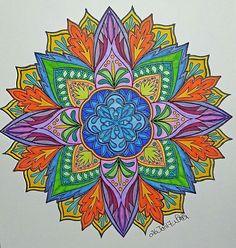 ColorIt Mandalas Volume 1 Colorist: Vanessa Black #adultcoloring #coloringforadults #mandalas #mandalastocolor