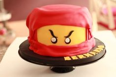 Just found this photo of my kid's 7th birthday cake and I'm still very proud of the outcome. It was a true success!!!!! :D #ninja #ninjacake #lego #legoninjago #ninjago #boyscake #geburtstag #geburtstagstorte #bubstorte #bubs