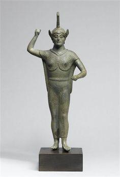 Etruscan bronze statuette C.450BC Louvre