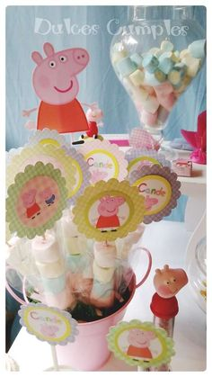 Candelaria's Peppa Pig Party  | CatchMyParty.com
