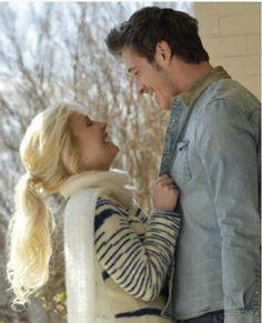 Sam Palladio and Clare Bowen as Gunnar & Scarlett from Nashville (2012-present)