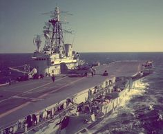 "The ""Bonnie"" at sea. Royal Canadian Navy, Royal Navy, Navy Day, Us Navy, Charlotte Sullivan, Navy Aircraft Carrier, Capital Ship, Navy Marine, Canadian History"