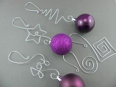 Snowman Ornament  Personalized Christmas Ornament  Wire Name