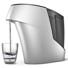 The Germ Eliminating Water Purifier - Uses Ultraviolet Light and 2-step process to destroy dangerous germs and bacteria