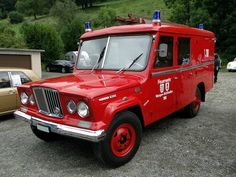 jeep kaiser j3000 gladiator firetruck 1966 a