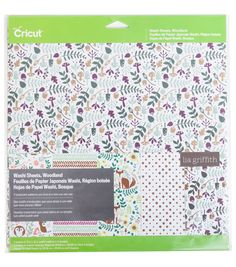 Cricut® Washi Sheets Woodland