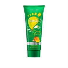 Feet Up Mango Infusion Mango & Ginseng -jalkojen kuorintavoide Mango Fruit, Oriflame Cosmetics, Foot Cream, Prunus, Essential Fatty Acids, Sissi, Feet Care, Herbal Medicine, Healthy Snack Foods