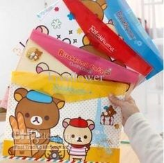 Buy cheap rilakkuma cafe pvc coin bag document bag 4design with $0.88-1.03/Piece|DHgate
