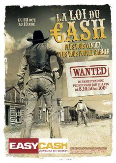 EASY CASH : naming d'opération (+ signature et conception-rédaction de la campagne pour Nouveau Monde DDB)