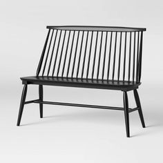 Windsor Metal Stack Patio Bench Black Project 62 400 x 300