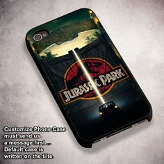 Jurassic Park Gate - For iPhone 4/ 4S/ 5/ 5S/ 5SE/ 5C/ 6/ 6S/ 6 PLUS/ 6S PLUS/ 7/ 7 PLUS Case And Samsung Galaxy Case