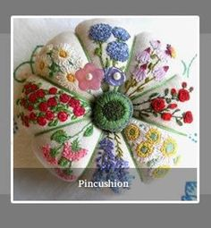 Pin cushion from Inspirations magazine.