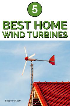 The 5 Best Home Wind Turbines Living off the grid doesn't mean going caveman. Use electricity for safe, practical living (think lighting the darkness and. Wind Turbine Cost, Home Wind Turbine, Building A Wind Turbine, Home Wind Power, Solar Power Facts, Alternative Energie, Wind Power Generator, Diy Generator, Energy Projects
