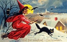 Freshette's Victorian Halloween Graphics Page