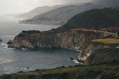 Big Sur Country. de venyamanzyuk