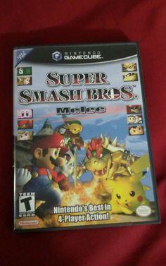 Super Smash Brothers Melee Nintendo GameCube