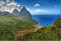 This tour is a fascinating exploration of St. Lucia and all it has to offer. You'll start by driving to the town of Soufriere to visit the famous Pitons. Continue through banana plantations, fishing villages and tropical rainforests to visit the beautiful Sulphur Springs. Finish this great tour of St. Lucia with a stop at the Fond Doux Estate to walk the trails of a working plantation! www.partner.viator.com/en/11907/tours/St-Lucia/Magical-Soufriere-A-Tour-of-St-Lucia/d38-2374MSHT
