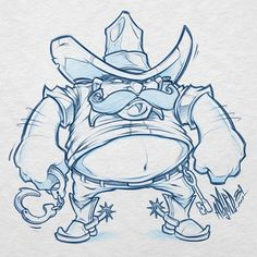 Client WIP #fatcowboy #boots #bailbonds #sketch #design #illustration #western #jail