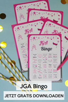 Group game for the hen party Are you looking for a game idea for the whole JGA group? Then our JGA Bingo is just the right idea Bachelorette Party Decorations, Bachelorette Parties, Group Games, Bear Cakes, Team Bride, Halloween Games, Woodland Party, Holiday Cocktails, Party Shop