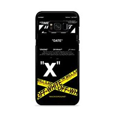 Off White Abloh Virgil Samsung Galaxy S8 Case – Miloscase Slim Iphone Case, Iphone 7 Plus Cases, Iphone 6, Galaxy S8 Phone Cases, Samsung Galaxy, Ipod Touch 5th Generation, 6s Plus Case, Plastic Case, High Quality Images