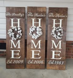 Use cotton wreath on HOME sign 2019 Use cotton wreath on HOME sign The post Use cotton wreath on HOME sign 2019 appeared first on Cotton Diy. Crafts To Make, Home Crafts, Diy Home Decor, Diy Crafts, Porch Signs, Home Signs, Home Wood Sign, Wood Projects, Craft Projects