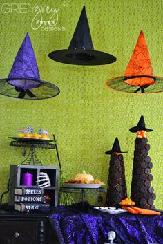 Halloween Party Ideas with Oreos and Wheat Thins