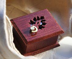 Wooden  musical box  handmade Hungarian ornaments  by asmanykata, $48.00
