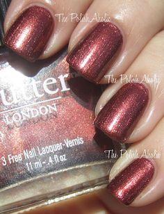 The PolishAholic: Butter London Shag Swatch