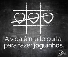 Sem jogos, só amor!