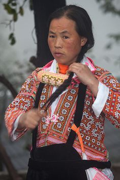 Guizhou : Longga village, Changjao Miao #3 | Flickr - Photo Sharing!