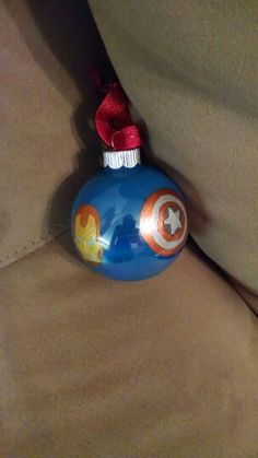 Other side of the avengers ornament