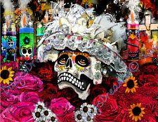 Dia De Los Muertos Day of the Dead DOTD DDLM Catrina Sugar Skull Calavera Mujer
