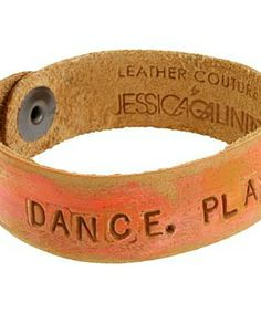 Leather Couture by Jessica Galindo Classic Petites--Dance. Play #accessories  #jewelry  #bracelets  https://www.heeyy.com/suggests/leather-couture-by-jessica-galindo-classic-petites-dance-play-orange-pink/