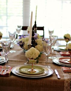 Easter Dinner Tablescape with fun DIY elements!