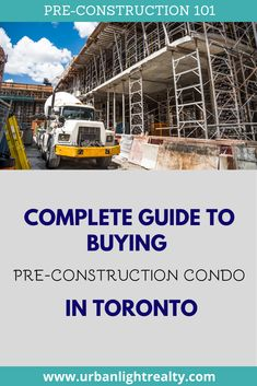 Complete guide to read with everything you need to know before investing into pre-construction condos in Toronto. Read and share the guide and find out how you can become our VIP so you get first access to new pre-construction condo projects in Toronto. Buying Your First Home, Real Estate Tips, First Time Home Buyers, Real Estate Investing, Condos, Real Estate Marketing, Get One, Vip, Toronto