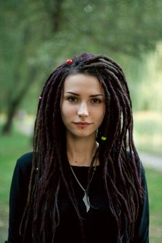 Rasta Beauties. Beautiful Women With Dreadlocks - Miladies.net